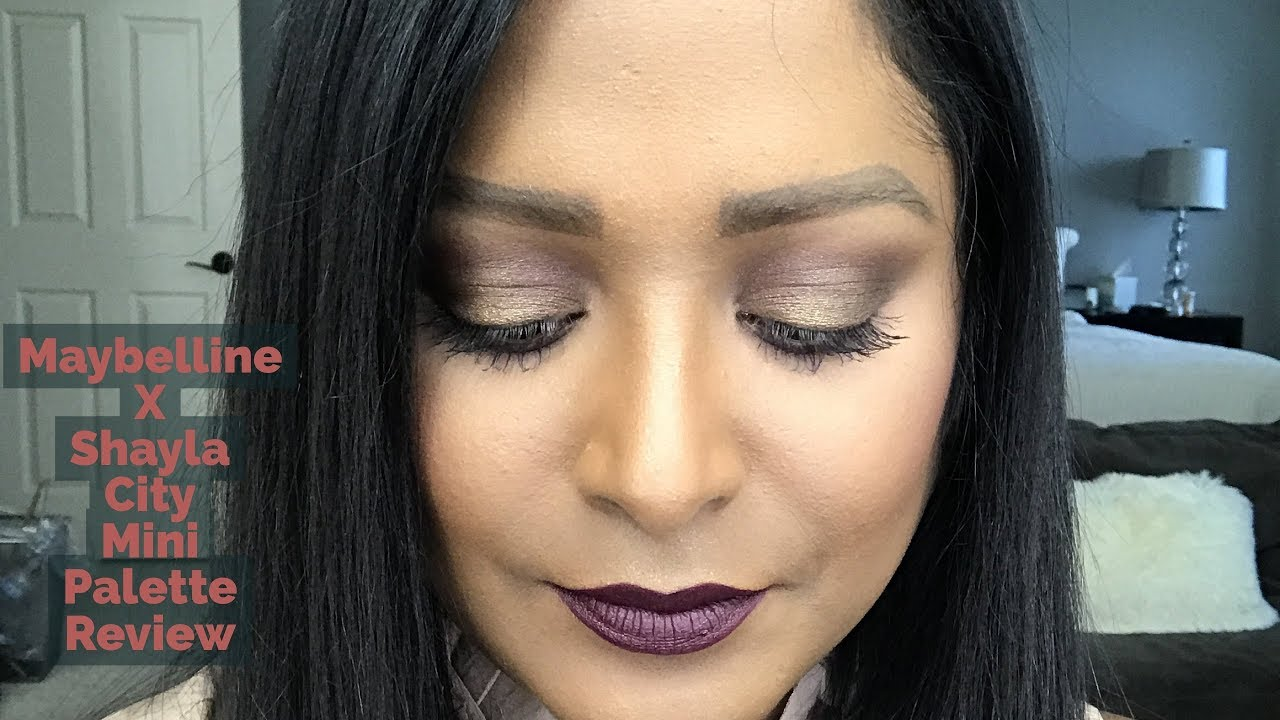 a4bd8ccc104 Maybelline X Shayla City Mini Palette/Colossal Big Shot Mascara Review and  Demo