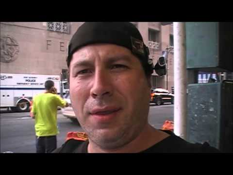 Interview with Steve - AE911Truth Street Actions in NYC on 9/11/13