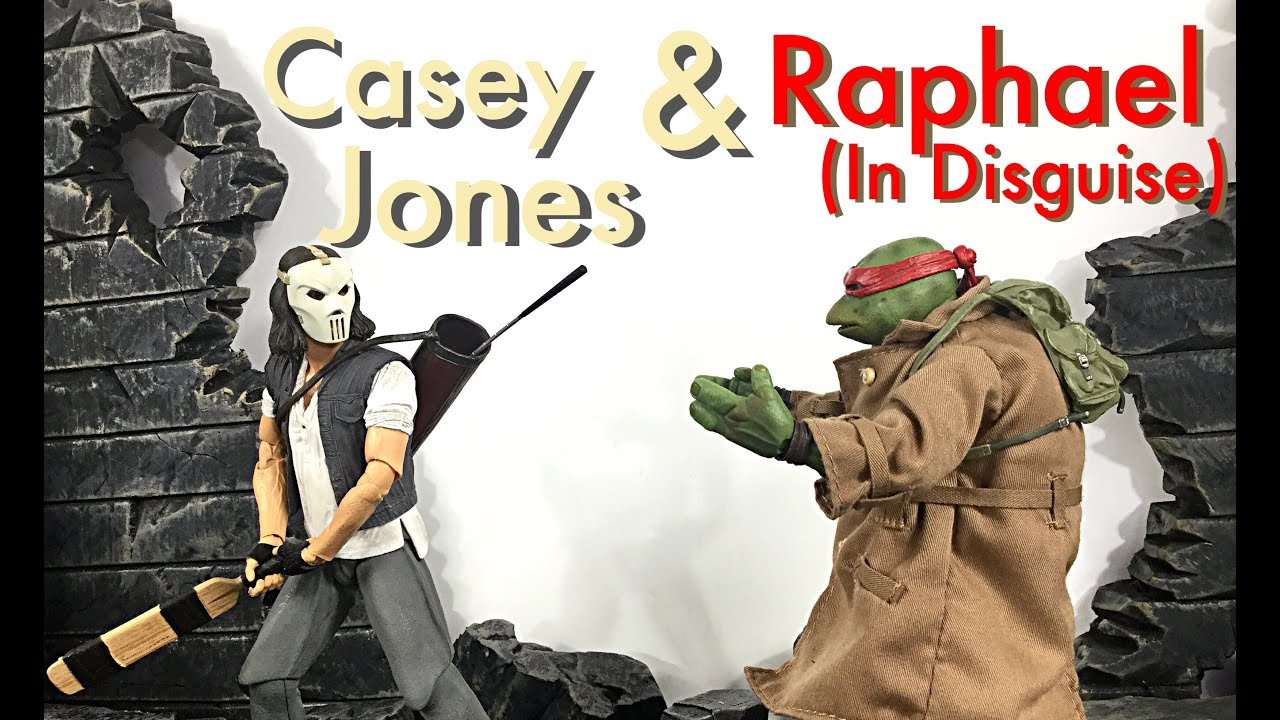 Neca Toys TMNT Original Movie Two Pack CASEY JONES & RAPHAEL In Disguise Action Figure Review