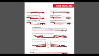Equipment Trailers - Flatbeds, Step Decks, Double Drops to RGN
