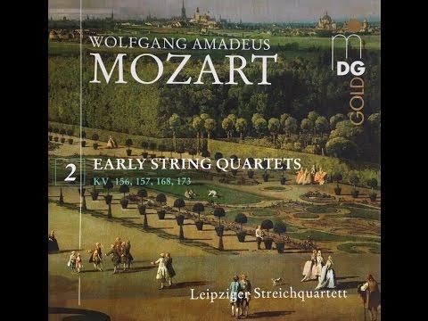 Mozart Early String Quartets Vol. 2, KV 168