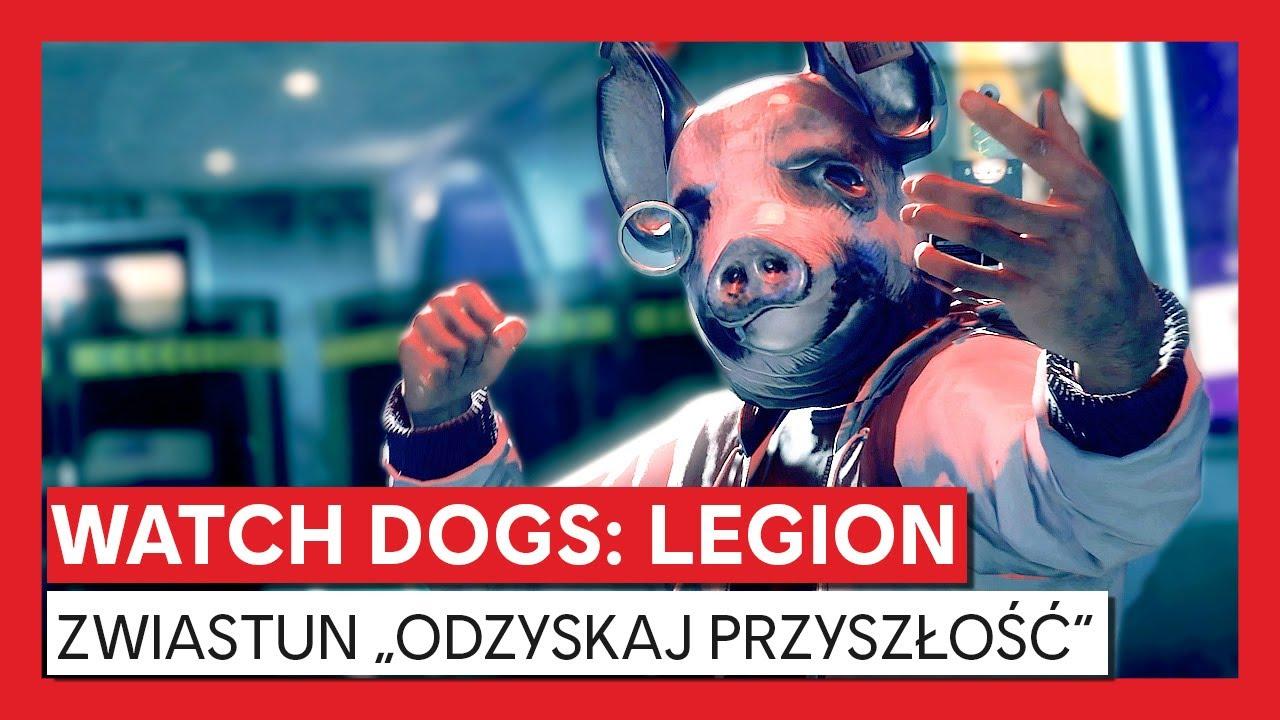 """Watch Dogs: Legion – zwiastun """"Odzyskaj przyszłość"""""""