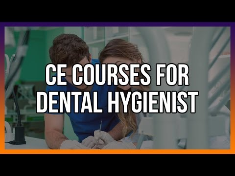 CE For Dental Hygienists - Free Courses Below