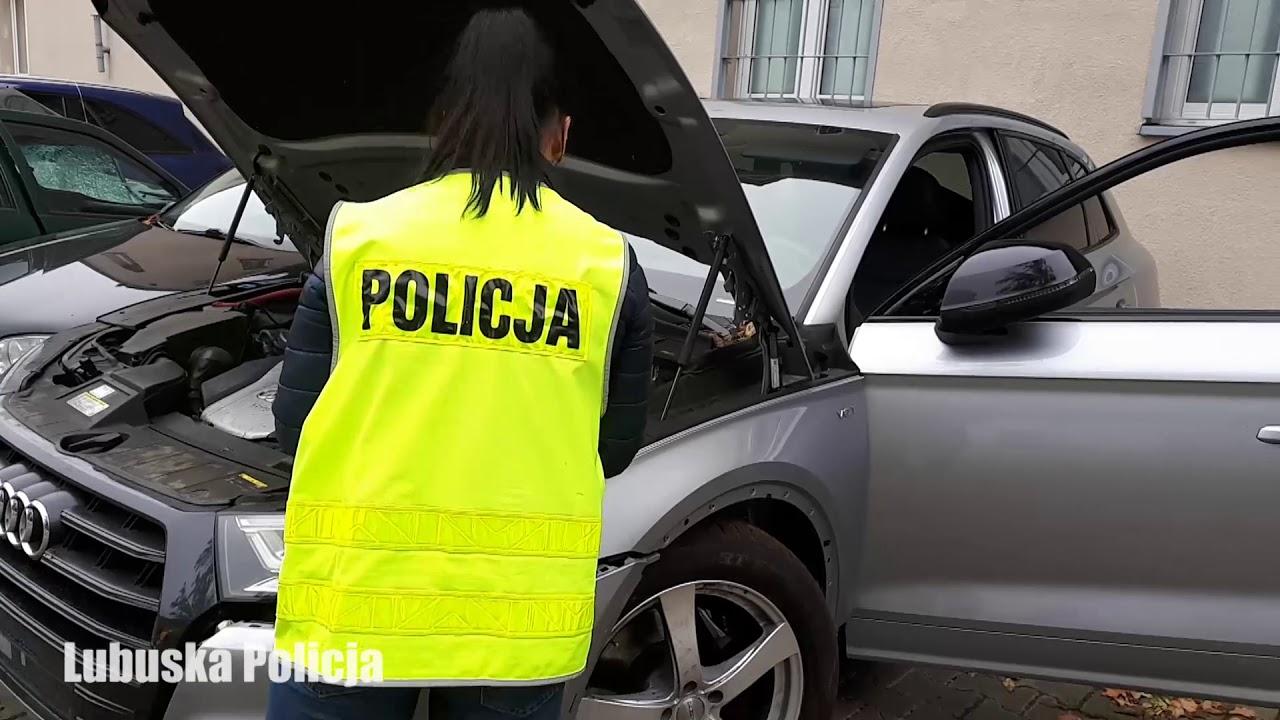 Policjanci zatrzymali go w skradzionym audi wartym 200 tys. złotych