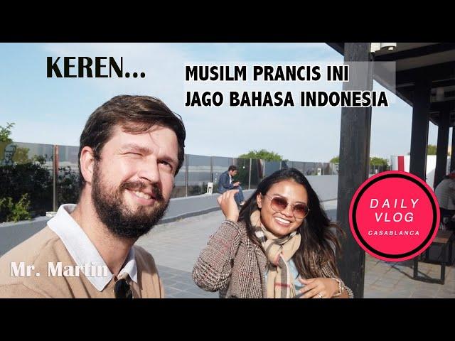 KEREN, Muslim Prancis Ini Jago Bicara Bahasa Indonesia
