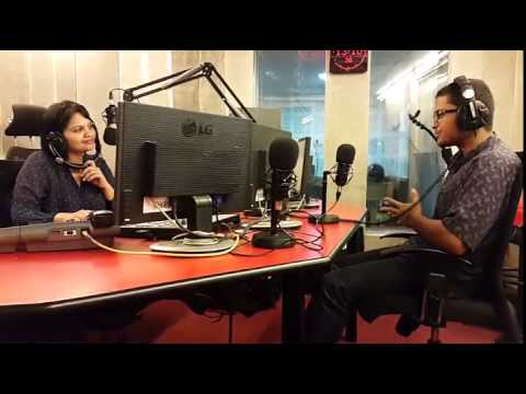 Interview with Guitarist Vishnu R - Chennai live 104.8 FM