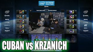 Mark Cuban vs Brian Krzanich (Intel CEO) | ARAM celebrity show match | IEM San Jose LoL 2015