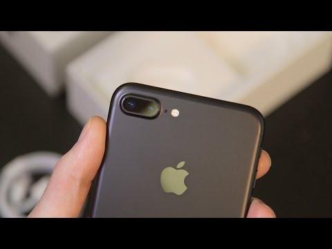 iPhone 7 Plus unboxing