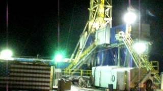 rockin in the bakken, winter oil drilling Richey Montana