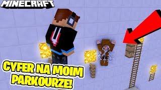 CYFER PRZECHODZI MOJEGO PARKOURA! | Minecraft Vertez Parkour V2 [1/2]