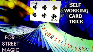 How to do a self working card trick  The Magic Beast