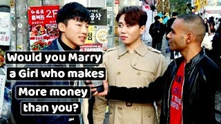 Would you marry a girl who makes more money than you?