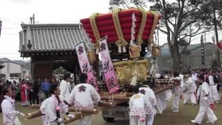 南あわじ市 東神代八幡神社 平成24年度 例大祭 北所