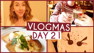 IT'S MY BIRTHDAY!! • VLOGMAS {DAY 21} Thumbnail