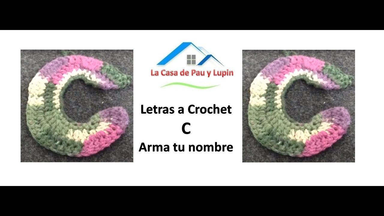 Letras a Crochet \