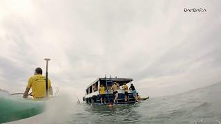 Volta na Ilha de Santo Amaro - Canoa Caiçara (teaser 3)