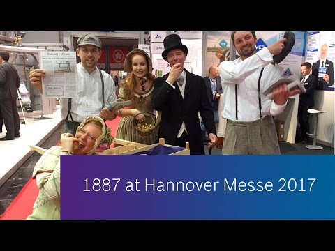 Industry 1.0 turned into Industry 4.0 at Hannover Messe 2017
