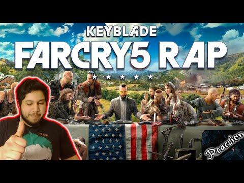 FAR CRY 5 RAP - Amén | Keyblade | Video reaccion