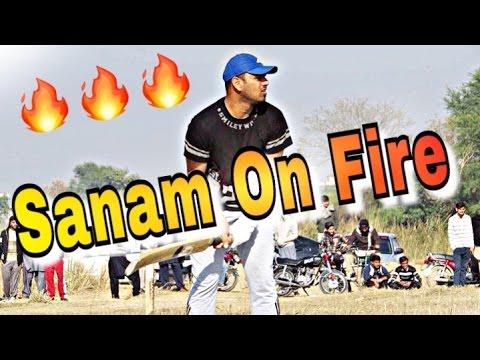 Sanam Iqbal Great Batting In Dadyal Night Tournament 2017