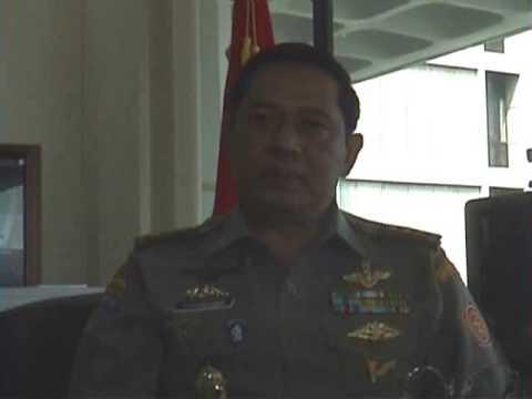 10年前のユドヨノ現大統領との会見(2) Interview President RI Susilo Bambang Yudhoyono