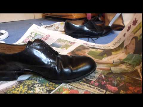 Air Cadet Instructional: Stripping Shoe Polish