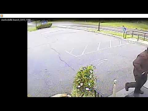 Video: Bank Of Millbrook Robbery Suspect Caught On Tape