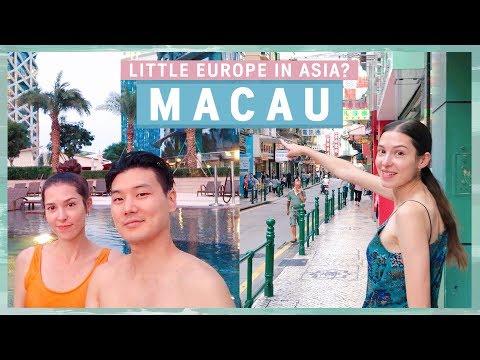 MACAU 🇲🇴 Little Europe in Asia? 아시아의 작은 유럽? 규호와 세라의 마카오 브이로그