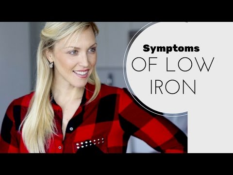 Symptoms of Iron Deficiency, anemia, causes and Natural Supplement