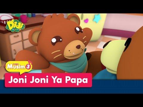 Didi & Friends | Lagu Baru Musim 3 | Joni Joni Ya Papa | Johny Johny Yes Papa