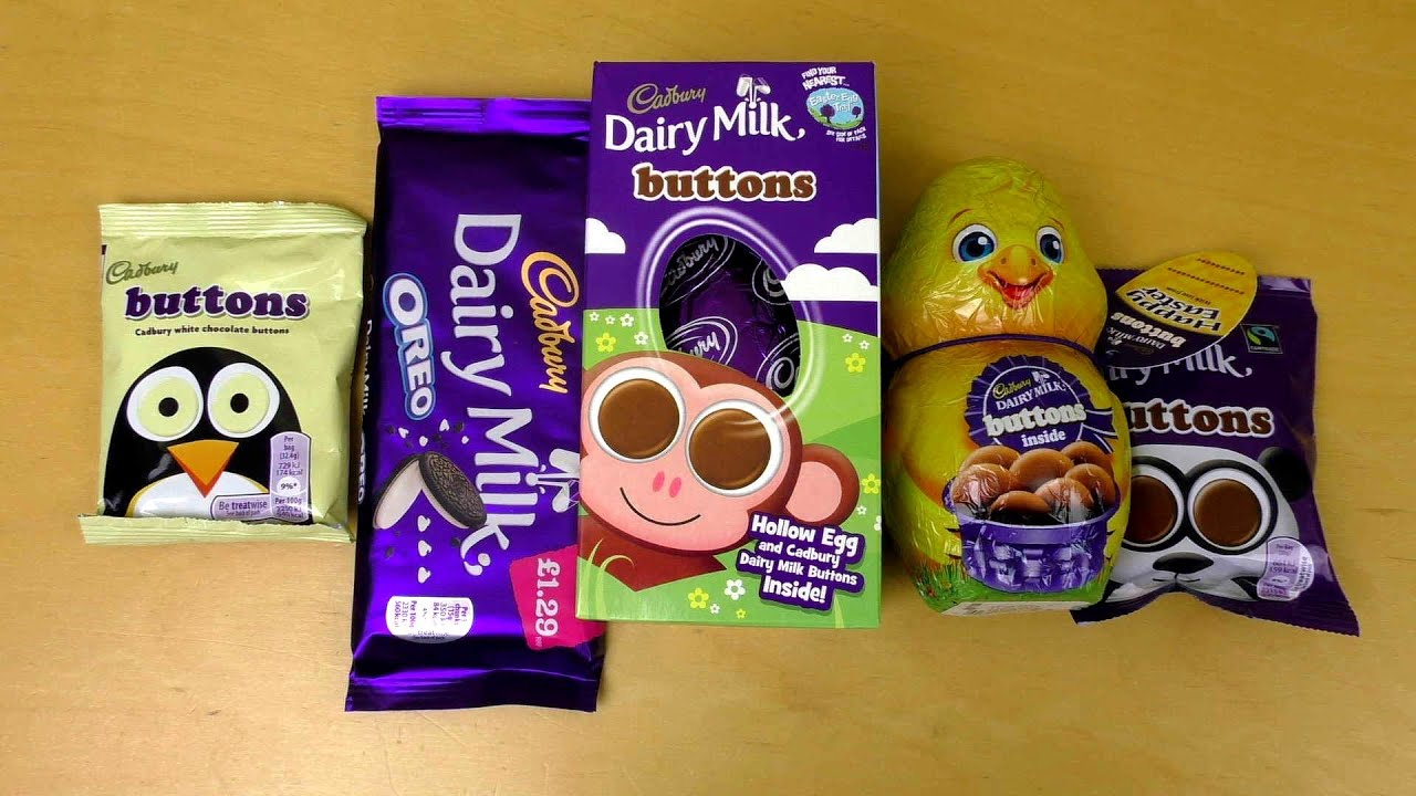 Oreo Chocolate Cadbury Buttons Easter Chicken