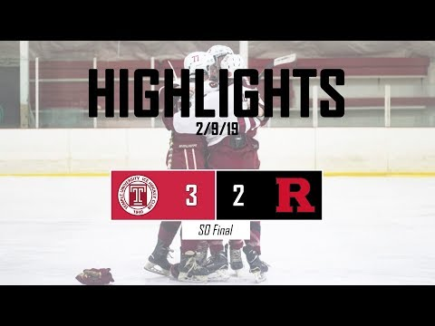 Highlights   Temple Owls Vs. Rutgers Ice Knights 2/9/19
