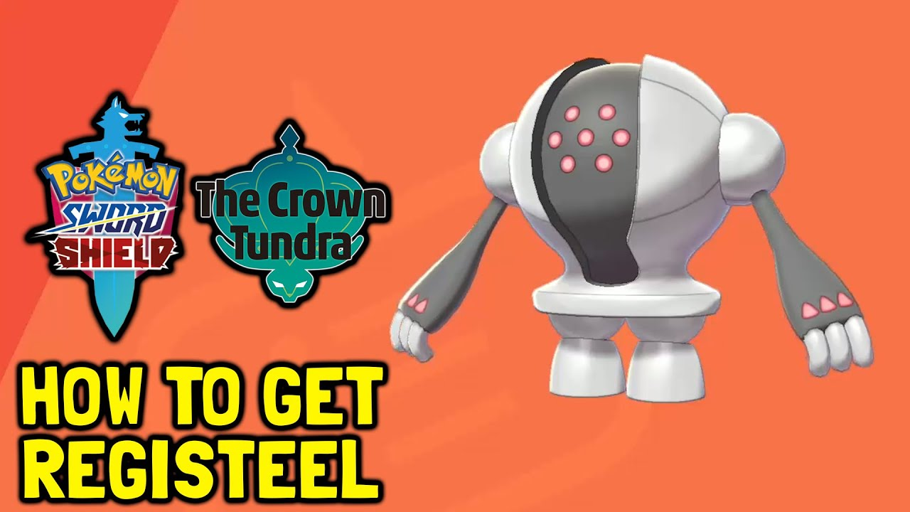 Pokemon Sword & Shield The Crown Tundra DLC How To Get Registeel (Ruin Riddle Solution)