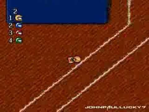 Micro Machines (Sega Mega Drive)
