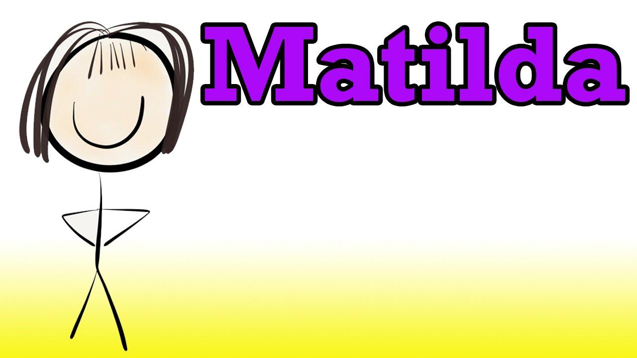 Book report on matilda