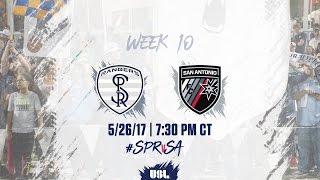 USL LIVE - Swope Park Rangers vs San Antonio FC 5/26/17
