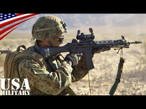 陸上自衛隊がアメリカの砂漠で射撃訓練 アイアン・フィスト2015 (AAV7, 84mm無反動砲, ミニミ軽機関銃, 89式小銃)