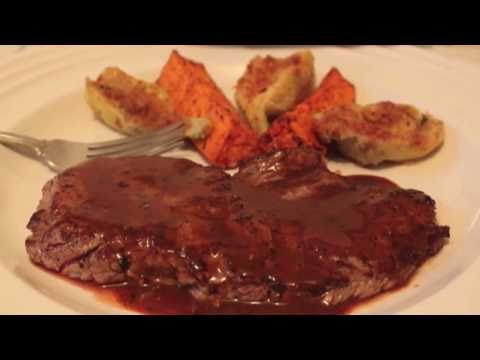 Minute Steak Recipe With BBQ Butter Sauce - Minute Steaks