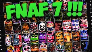 FNAF 7 ВЫЙДЕТ !!! НОВАЯ ИГРА FNAF в КОТОРОЙ БУДУТ ВСЕ АНИМАТРОНИКИ из ВСЕХ ИГР ФНАФ !!!