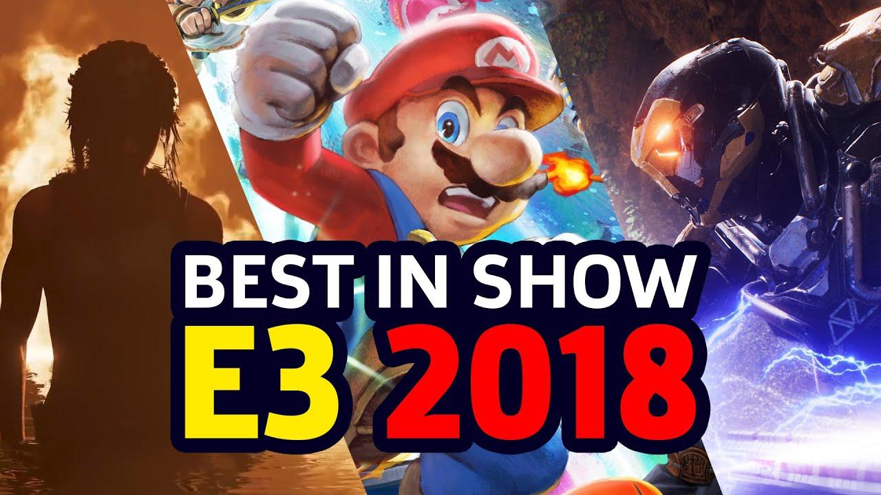 Gamespot S Best Of E3 2018 Awards Youtube