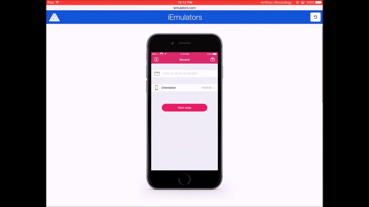 Screen Recorder For Iphone Free Download