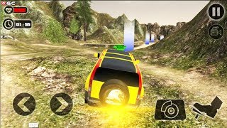 Land Cruiser Luxury Drive - 4x4 SUV Offroad Driver Games - Android Gameplay FHD
