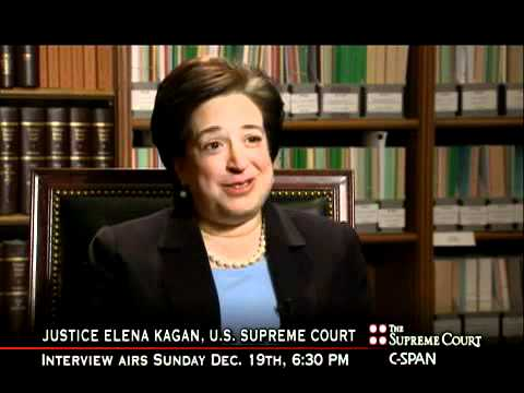 Justice Kagan on Becoming a Lawyer