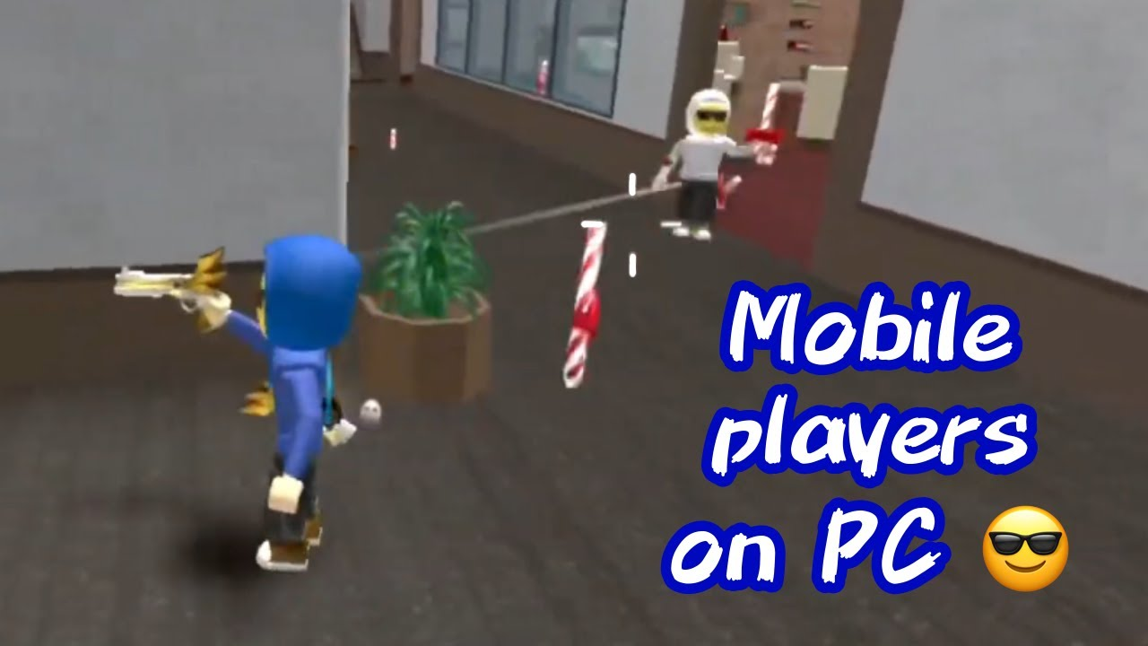 MOBILE PLAYERS 1V1 ON PC (MM2)