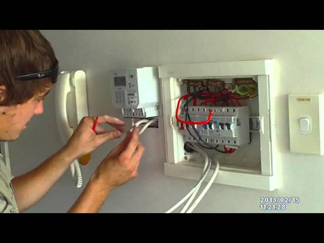 Installing A Prepaid Meter Youtube