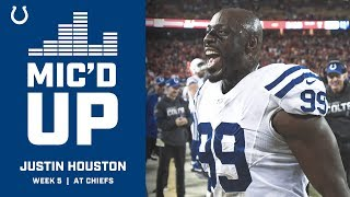 Justin Houston Mic'd Up Vs. The Chiefs
