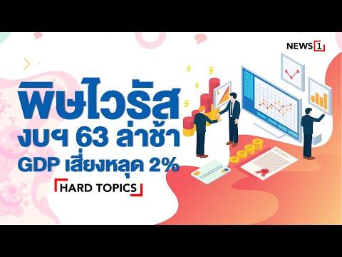 [Hard Topic] พิษไวรัส งบประมาณปี2563 ล่าช้า อาจฉุด GDP ปี 63 เสี่ยงหลุด 2