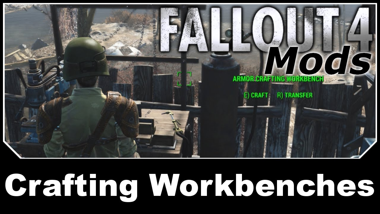 Fallout 4 Mods - Crafting Workbenches