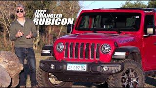 Jeep Wrangler Rubicon - Test - Matías Antico - TN Autos