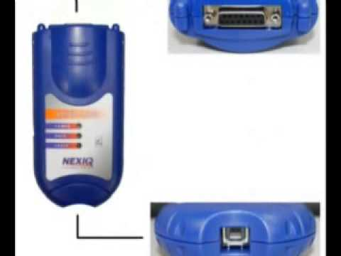 NEXIQ 125032 USB Link-Software Diesel Truck Diagnostic Interface-Software with All Installers