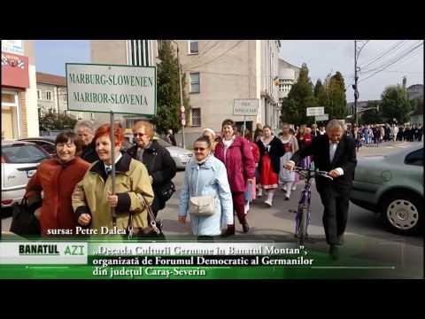 """""""Decada Culturii Germane în Banatul Montan"""", organizată de Forumul Democratic al Germanilor  din ju"""